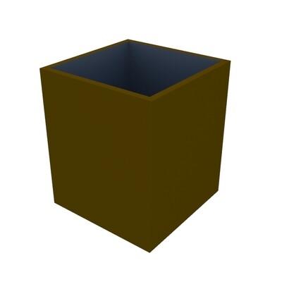 Powder-coated Cube Planter 400 x 400 x 470