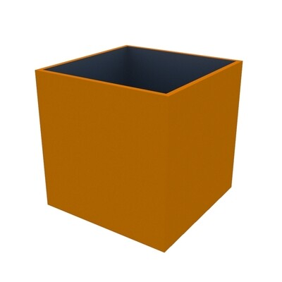 Powder-coated Cube Planter 900 x 900 x 900