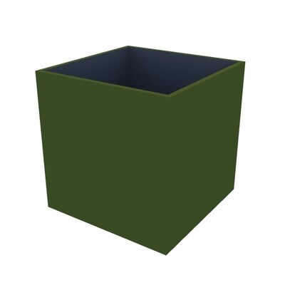 Powder-coated Cube Planter 450 x 450 x 450