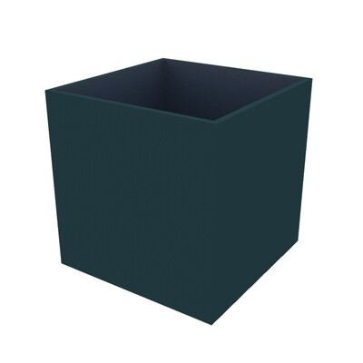 Powder-coated Cube Planter 800 x 800 x 800