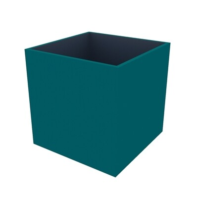 Powder-coated Cube Planter 400 x 400x 400