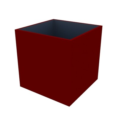 Powder-coated Cube Planter 750 x 750 x 750