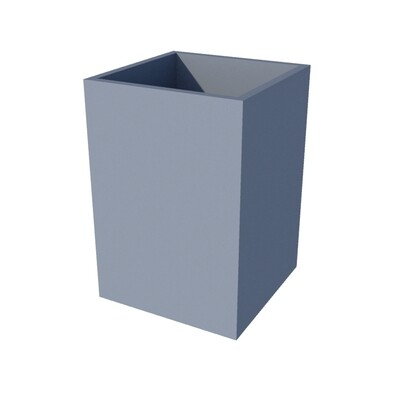 Powder-coated Cube Planter 450 x 450 x 650