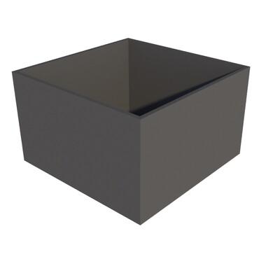 Powder-coated Cube Planter 1000 x 1000 x 600
