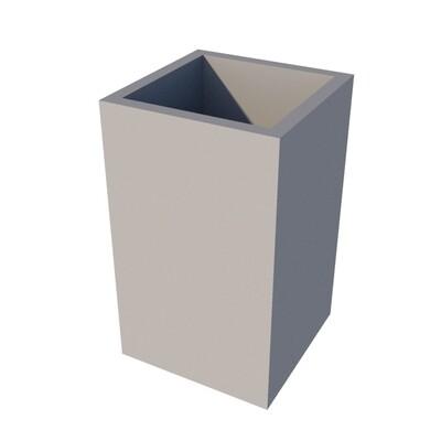Powder-coated Cube Planter 300 x 300 x 500