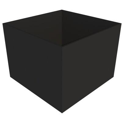 Powder-coated Cube Planter 800 x 800 x 600