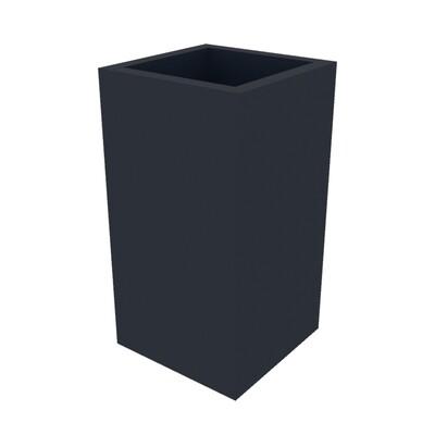 Powder-coated Cube Planter 250 x 250 x 470
