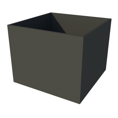 Powder-coated Cube Planter 1000 x 1000 x 800