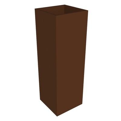 Powder-coated Cube Planter 500 x 500 x 1500