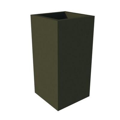 Powder-coated Cube Planter 300 x 300 x 600