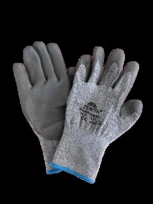 Guanto in fibre miste TAGLIO 3 - CE EN 388 4343C - PU800