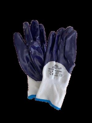 Guanto di protezione rivestito in nitrile - CE EN 388 4121X - NI134