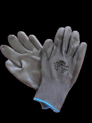 Guanto in nylon senza cuciture - CE EN 388 4131X - PU100