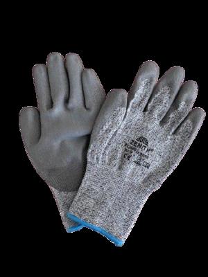 Guanto in fibre miste TAGLIO 5 - CE EN 388 4543D - PU500