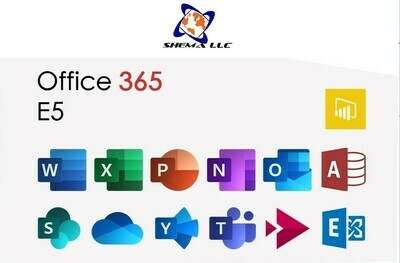 E5 - Office 365 Annual Plan for One 1 seat / year