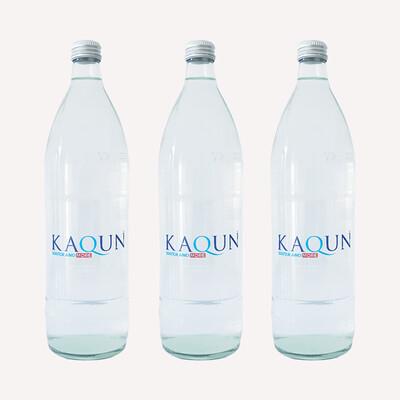 Acqua Kaqun 8 confezioni da 6 bottiglie in VETRO da 1L