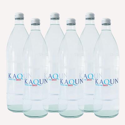 Acqua Kaqun 16 confezioni da 6 bottiglie in VETRO da 1L