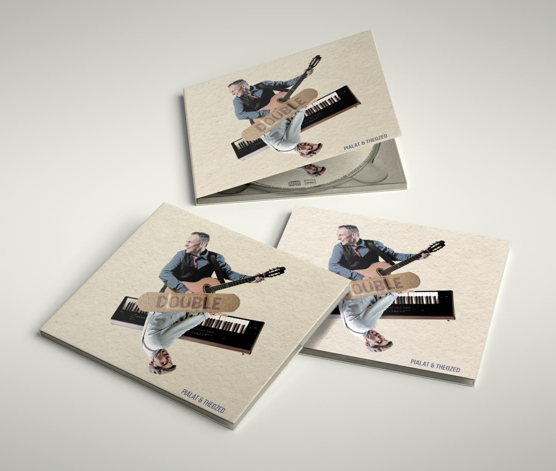 "Album CD ""Double"" - Pialat et Theozed"