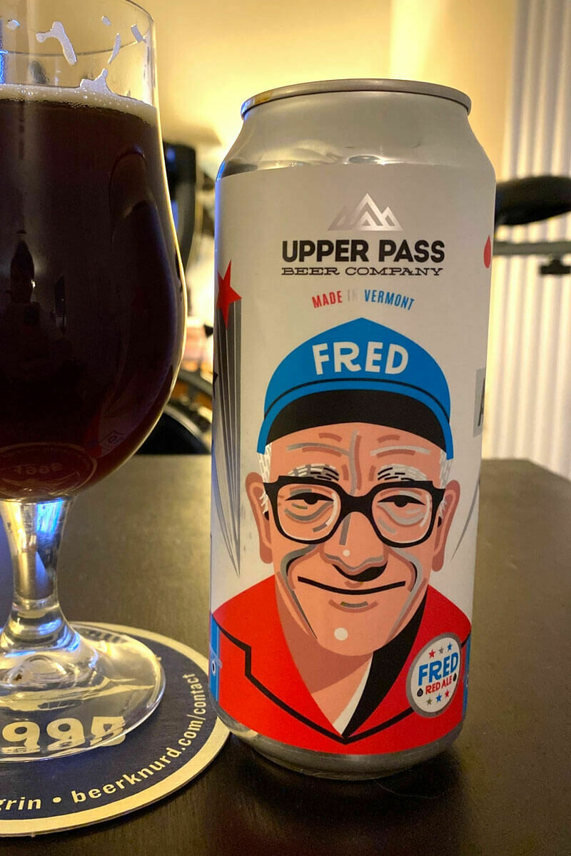 Fred's Red Ale 16ozc (Upper Pass)