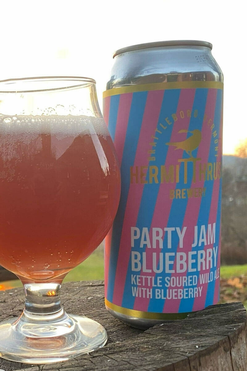 Party Jam Blueberry 16ozc (Hermit Thrush)