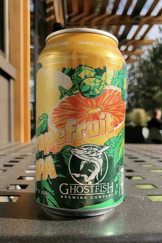 Grapefruit IPA 12ozc (Ghostfish)