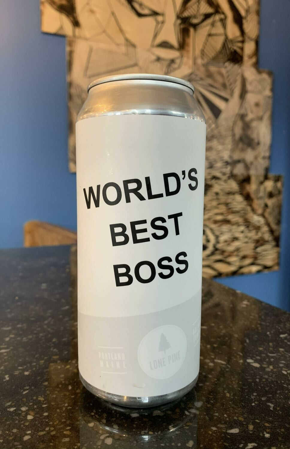 World's Best Boss 16ozc (Lone Pine)
