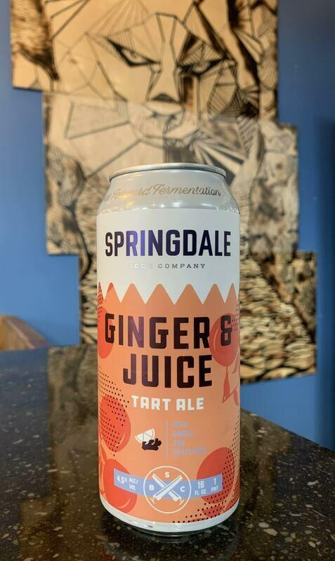 Ginger & Juice 16ozc (Springdale)