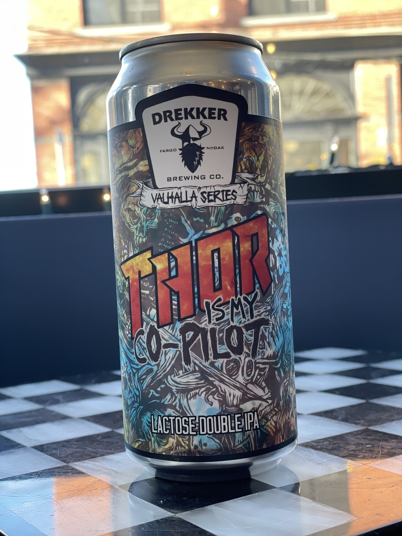 Thor is My Co-Pilot 16ozc (Drekker)