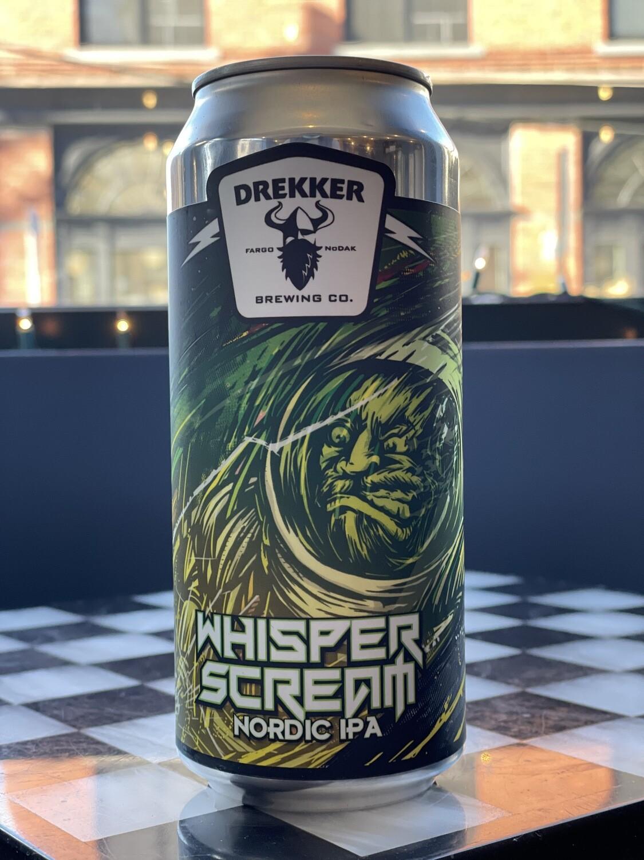 Whisper Scream 16ozc (Drekker)