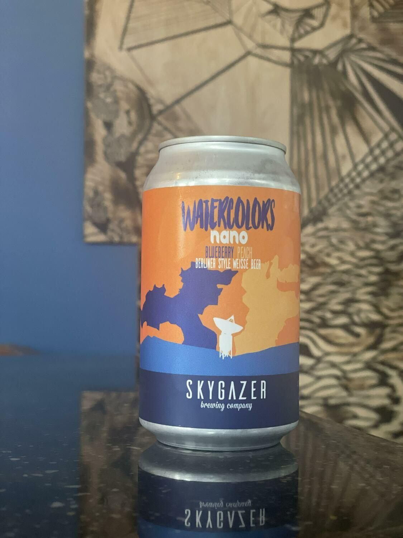 Watercolors Nano Blueberry 12ozc (Skygazer)