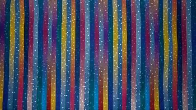 Jewel Tone Stripes & Dots