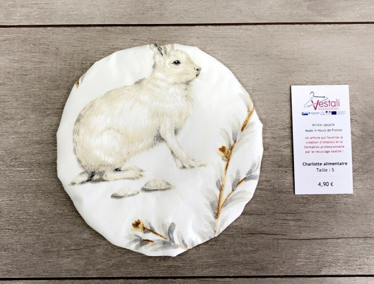 Charlotte Alimentaire - Motif animaux