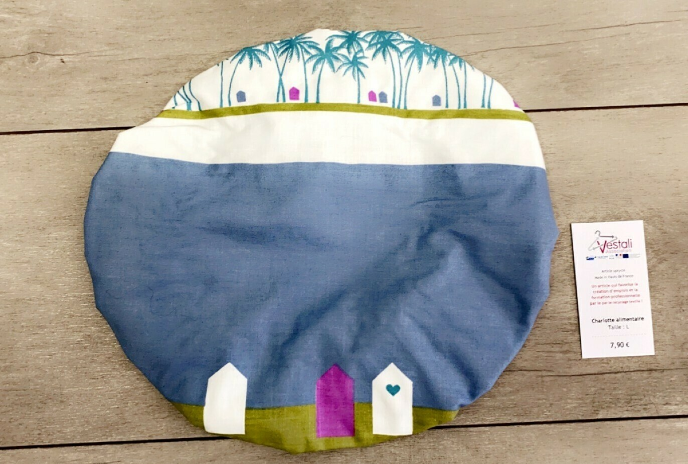 Charlotte Alimentaire Taille L - Plage