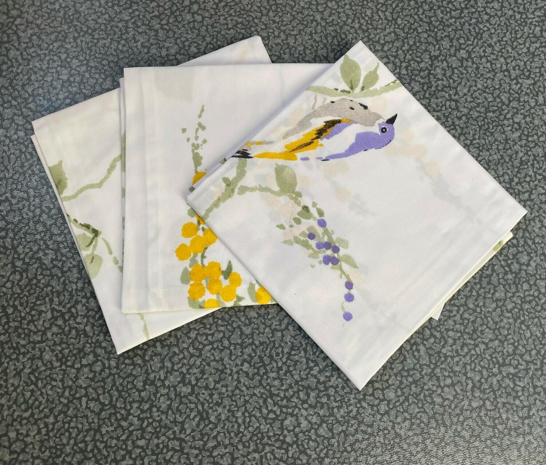 Furoshiki - Taille M - Fleurs jaunes