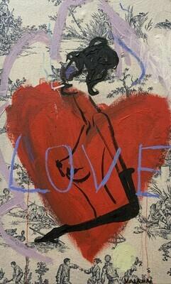 Love 38 x 61 cm
