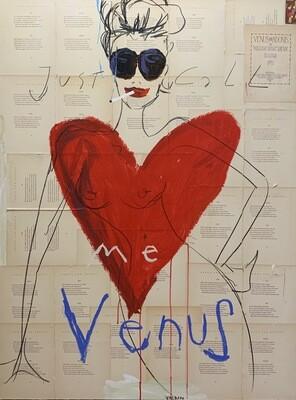 Just call me Venus 89 x 116 cm