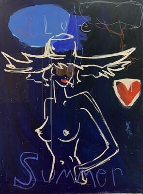 Blue Summer 130 x 97 cm