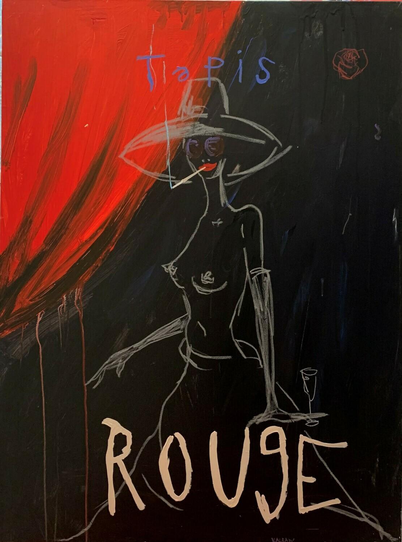 Tapis Rouge 130 x 97 cm