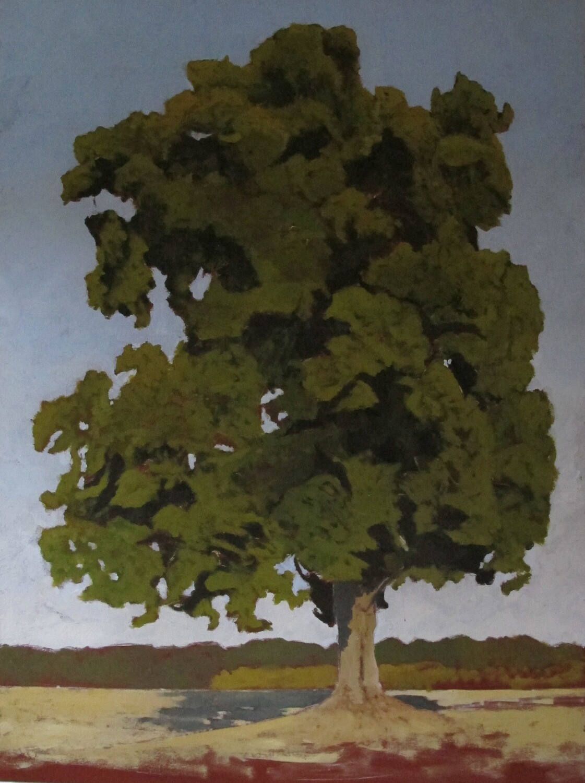 Le Tilleul 1 130 x 97 cm