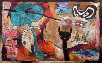 Voyage immobile<br>93 x 150cm