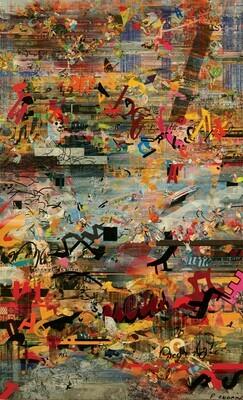 Le retour à la jungle 146 x 89 cm