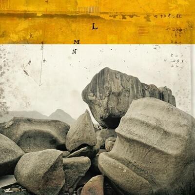 Grosse roche 50 x 50 cm
