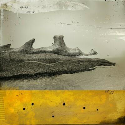 Alien rock 50 x 50 cm