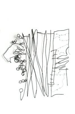 Jazz accordéon 140 x 140 cm