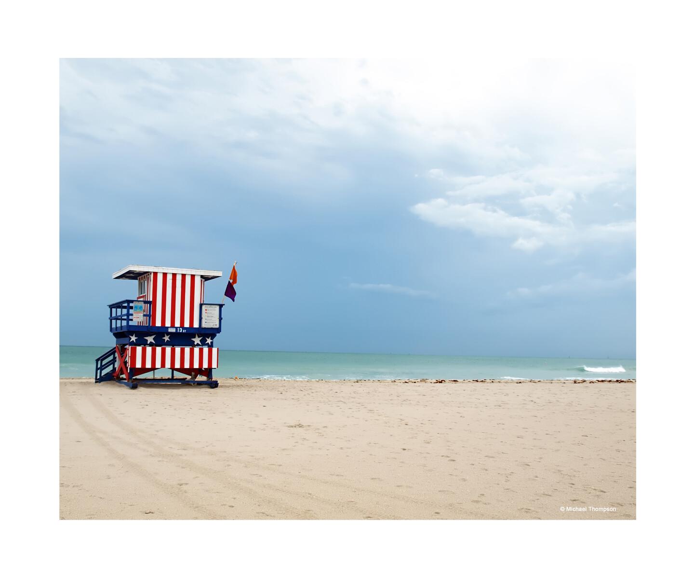 South Beach Lifeguard Stand