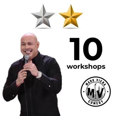 Comedy Workshop Bundle - Intermediate & Advanced