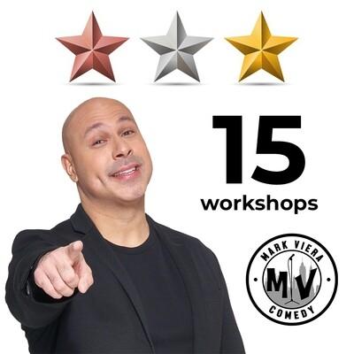 Comedy Workshop Ultimate Bundle - Beginner + Intermediate + Advanced