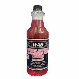 1 Quart WAB Polished Cleaner For Aluminum / Stainless Steel