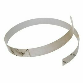 1 Inch Chrome Tape With Adhesive Back