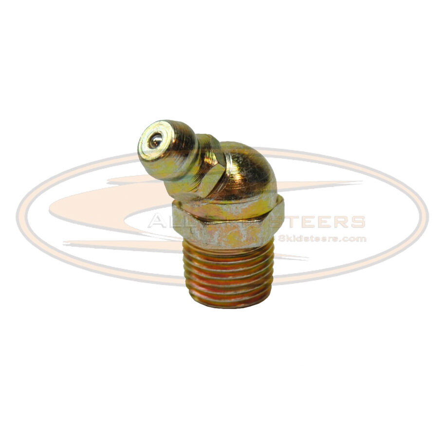 45° Grease Sert Fittings for [ G S T ] Series Bobcat Skid Steers A- 11H15